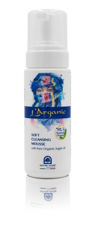 L'Arganic Oczyszczający Mus do twarzy 150 ml - z organicznym olejkiem arganowym (1)