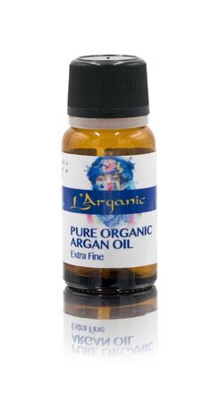 LArganic Pure Organic Argan Oil- 100% eko olejek arganowy 10ml (1)