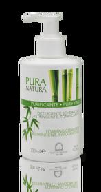 Pura Natura Purifying Płyn do oczyszczania twarzy, dekoltu i pleców- skóra trądzikowa