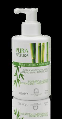 Pura Natura Purifying Płyn do oczyszczania twarzy, dekoltu i pleców- skóra trądzikowa (1)