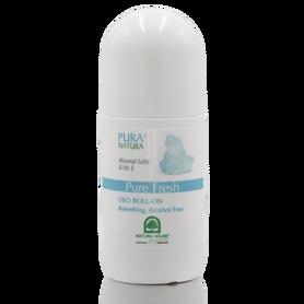 PURA NATURA Pure Freshdezodorant w kulce z solami mineralnymi 50ml