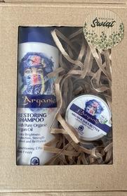 Zestaw kosmetyków naturalnych szampon plus