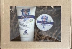 Zestaw kosmetyków naturalnych Krem do rąk+masełko shea arganowe