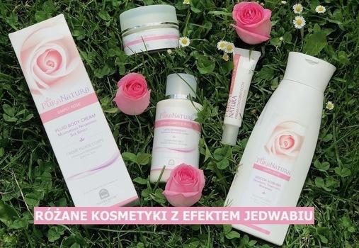 różane kosmetyki- efekt jedwabiu