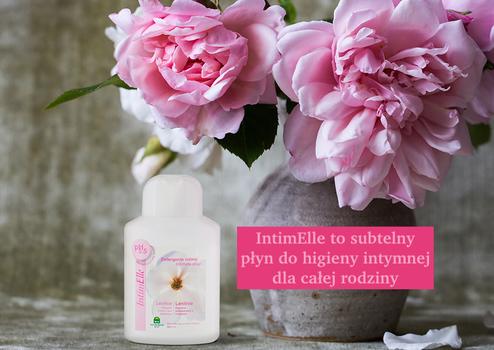 co na podrażnione miejsca intymne? Polecamy subtelny żel do higieny intymnej z wyciągiem róży i mimozy