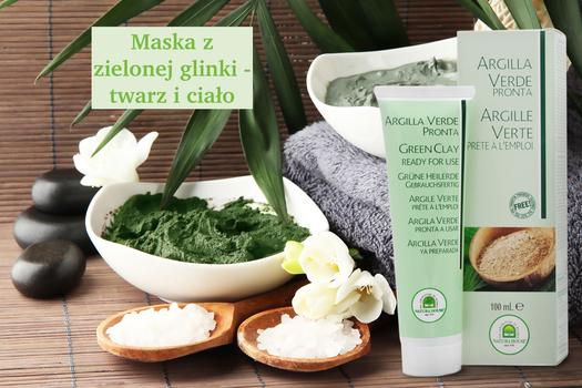 Co na niedoskonałości cery? proponujemy maskę z zielonej glinki z olejkami eterycznymi